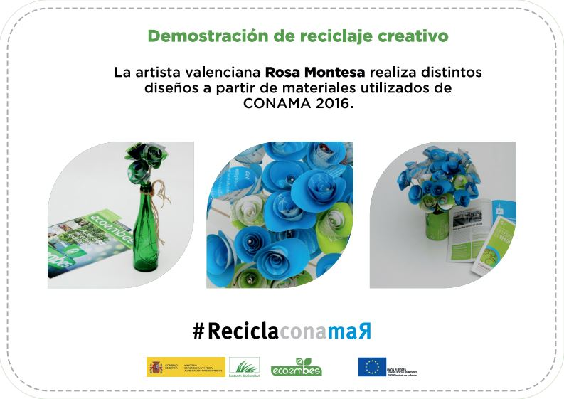 CONAMA2016 ReciclaCONAMAR ROSA MONTESA