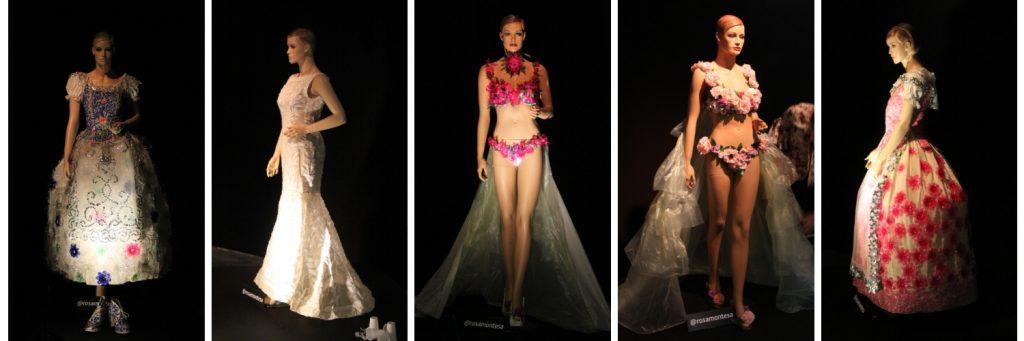 Prendas de vestir con material reciclado Rosa Montesa