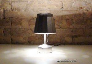 Cafetera lámpara - Reciclado creativo - Rehogar