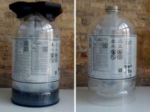 Barriles de cerveza que se transforman en medusas