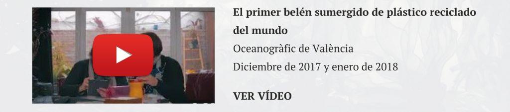 Belén sumergido Navidades Oceanogràfic Valencia