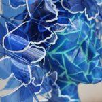 Mariposas azules versioneando a Manolo Valdés