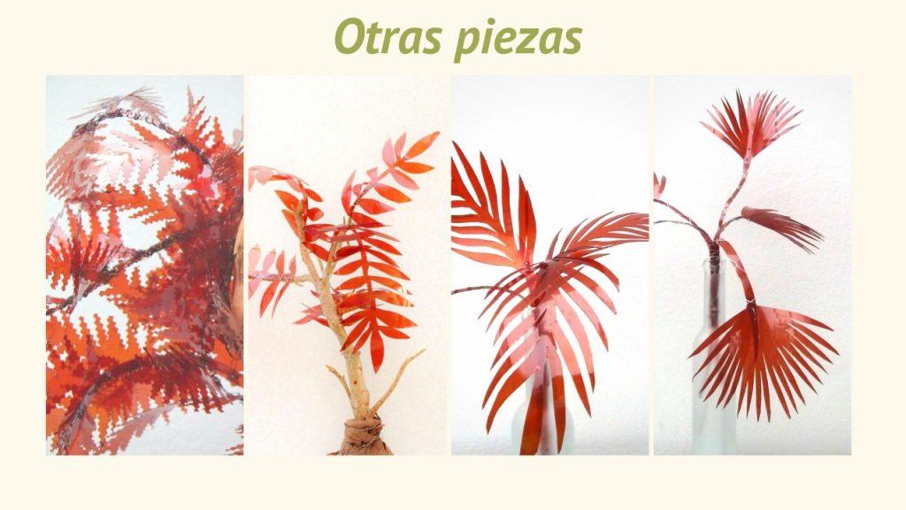 Naturaleza Plástica por Rosa Montesa. Reciclado Creativo