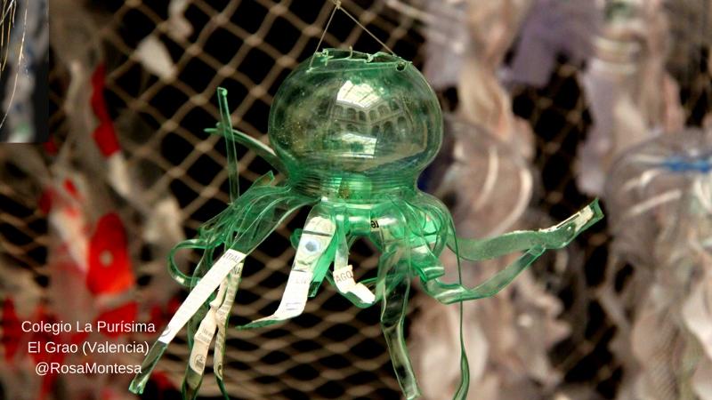 Talleres reciclado plástico colegio Valencia