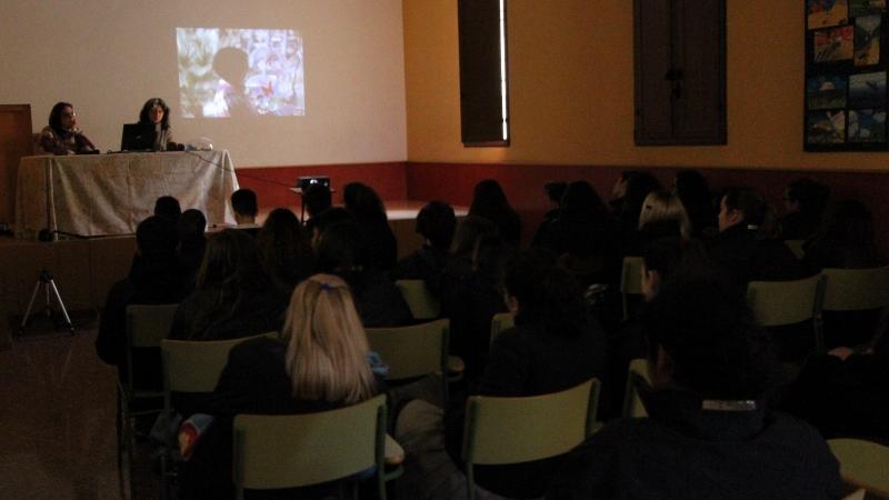 Charla sobre reciclado, alumnos 4 ESO Colegio La Purísima . El Grao. Valencia