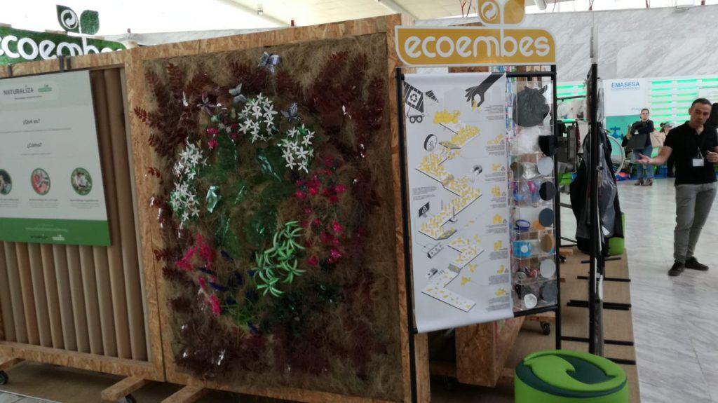 Esta semana Ecoembes replicó el stand del 2016 en el Conama 2018