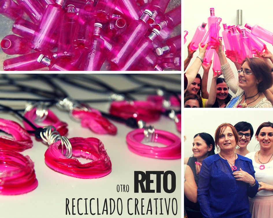reto reciclado evento botellas pet