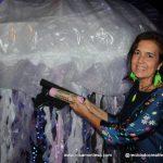 Rosa Montesa. Medusa_gigante_reciclando_plásticos