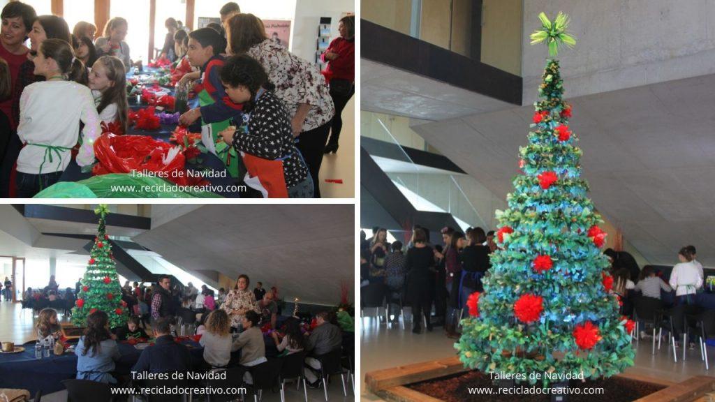 Talleres de Navidad de Reciclado Creativo