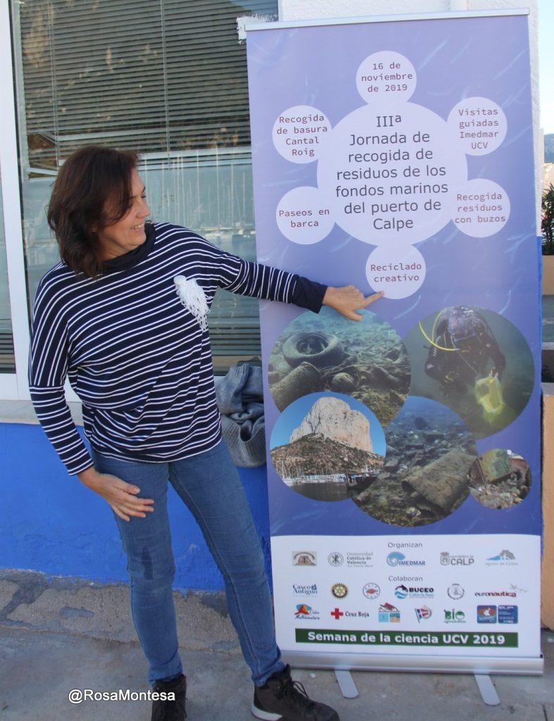 Recogida de basuras marinas y taller de reciclado