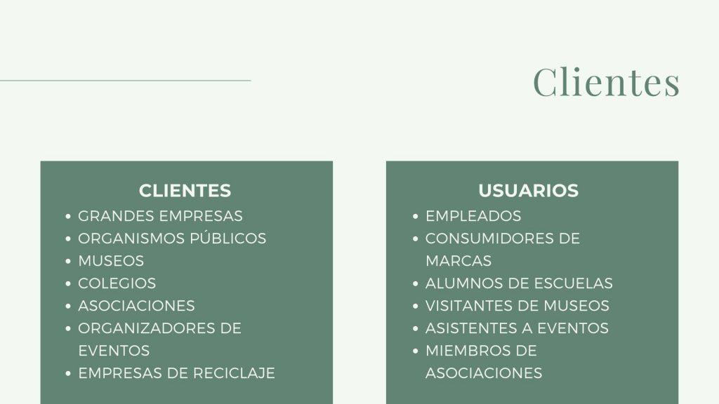 Clientes y Usuarios Rosa Montesa Reciclado Creativo