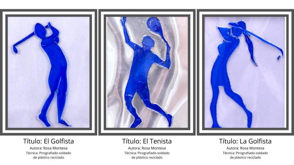 Deportistas pirografiado y soldadura de envases de plástico