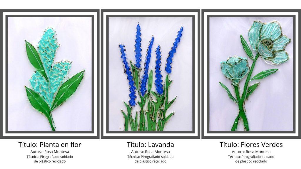 Flores - Técnicas de serigrafiado soldado de plástico