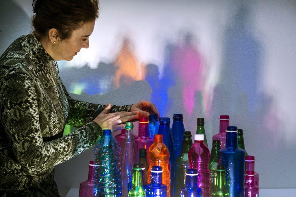 Rosa Montesa - Vivir con plástico - Foto Eva Ripoll