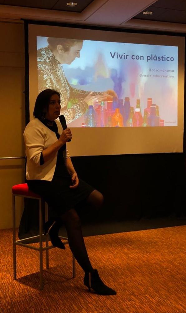 Vivir con plástico RosaMontesa - Valencia Culinary Festival 2020