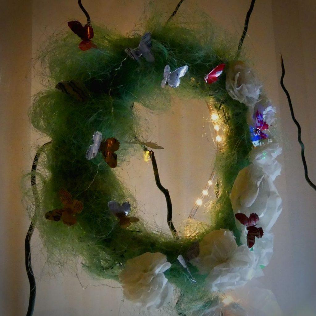 Navidad reciclando basuras marinas: